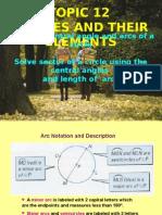 Topic 12(Angle,Arcs, Segment & Sector of Circles)