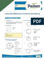 Geometria - CIRCUNFERENCIA- PUNTOS NOTABLES