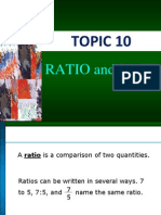 Topic 10( Ratio)