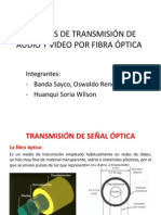 TransmisiTransmisión de video por fibra ópticaón de Video Por Fibra Óptica