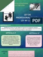 ley de profesionalizacion