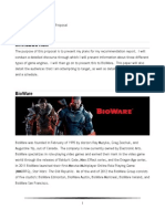 bioware proposal document