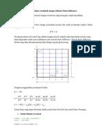 Persamaan Laplace Ditulis Sebagai