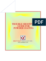 Trouble Shooting Guide for the Powder Coating