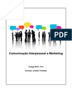 3559 - Comunicação Interpessoal e Marketing