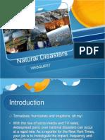 natural disaster webquest