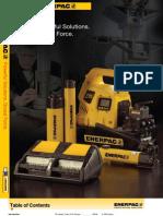 Enerpac E326 English Catalog