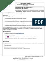 Circular Preinscripciones Multilingua Estudiantes Nuevos - 2015-1final