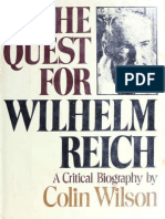 The Quest for Wilhelm Reich - Wilson, Colin