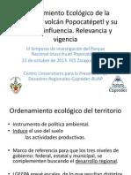 6 Ordenamiento Ecológico de La Región Del Volcán Popocatépetl. Relevancia y Vigencia