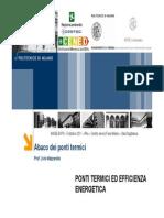 Ponti Termici CENED Presentazione