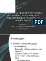 Production of Monoterpenoids and Aroma Compounds From Cell