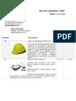 Cotizacion EPP