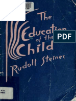 The Education of the Child- Steiner, Rudolf