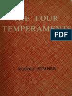 The Four Temperaments - Steiner, Rudolf