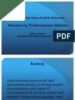 Perampasan Tanah dalam Konteks Indonesia
