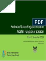 Kode Fungsional statistisi