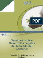 Financiación de Proyectos de Carbono. Presentación