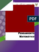 Curso. Orientaciones Pedagógicas para el Desarrollo del Pensamiento Matemático