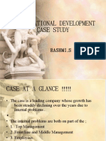 Organizational Development Case Study