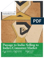 Passage to India Selling to Indias Consumer Market