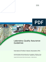 2009 Ifa Laboratory Quality Guidelines
