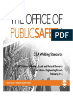 CSA Welding Standards Feb 2014