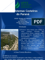 Ecossistemas Costeiros Do Paraná Final