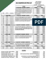 2013 Gun Safe Pricing 2
