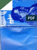 Fichte-Studien Bd 1 Rezensionsteil