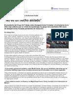 """Página_12 __ El Mundo __ """"No Es Un Hecho Aislado"""""""