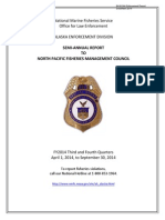 NMFS enforcement report to council