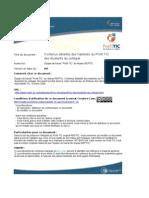Profil TIC Contenus Oct2009 v2003