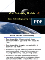 Cost Estimating Module