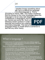 Power Point Sociolinguistics