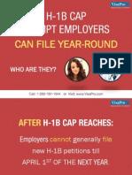 H-1B Cap Exempt Employers