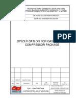 DHG PVE DD 3 ME SPC 005_Spec for Gas Turbine Compressor Package