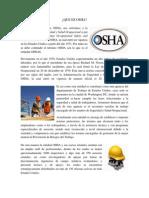SSO - QUE ES OSHA