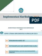 Impementasi Kurikulum 2013 Final