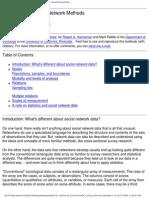Hanneman Robert a. Introduction to Social Network Methods