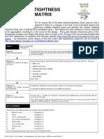 Sept 11 Pamphlet Weathertightness Risk Matrix Guide