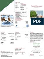 2014-10-05 bulletin