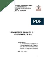 Regimenes Basicos o Fundamentales