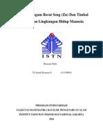 Download Pengaruh Logam Berat Seng Zn Dan Timbal  Pb Dalam Lingkungan Hidup Manusia by SandySihombing SN249119813 doc pdf