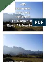 -Iom- Montserrat-3 Ovnis Patrullen Pel Parc Natural- Report 17-12-2009