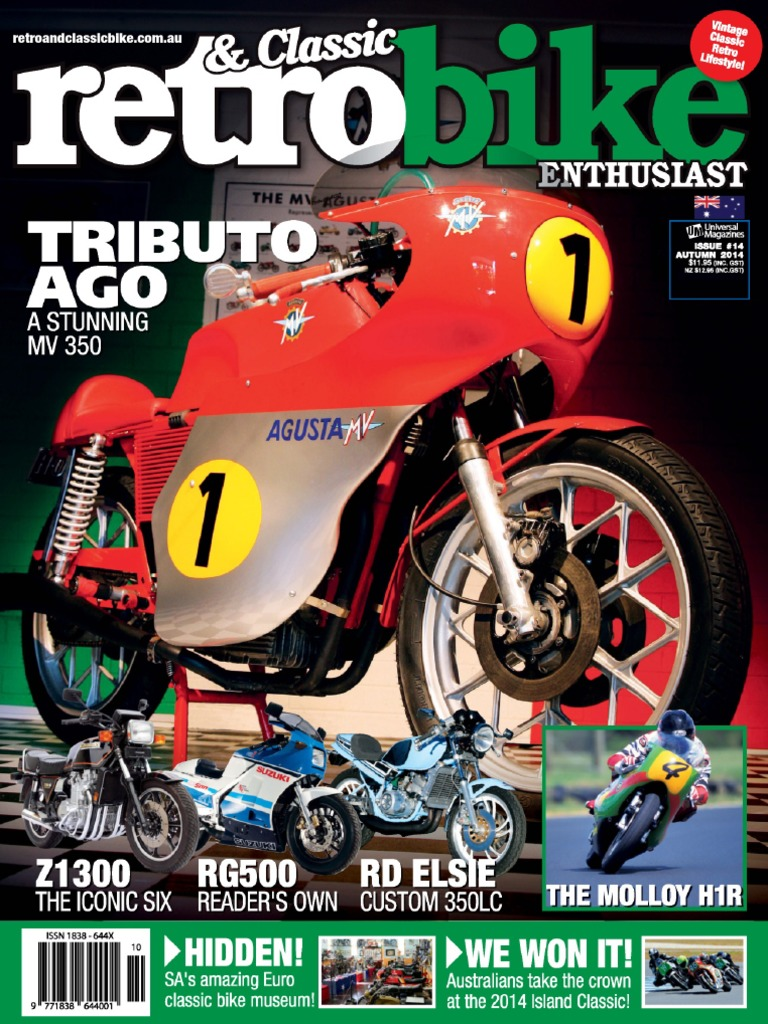 Retro Classic Bike Enthusiast Autumn 2014 | Motorcycle | Battery Charger