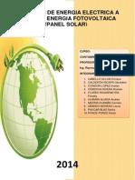 Celdas Fotovoltaicas - Panel Solar i