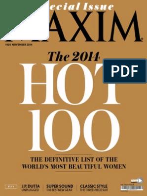 Maxim India - Special Issue - November 2014 pdf | Batman