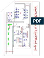 Centre Drawing_crosscut Office Model