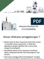 LC-MS dan GC-MS